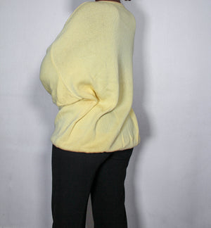 Soft yellow  jumper