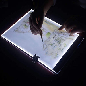 Premium Portable Drawing Digital Sketch Light Pad With Pen