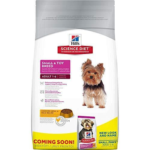Hill'S Science Diet Adult Small & Toy Breed Pet Dog Food, Chicken Meal