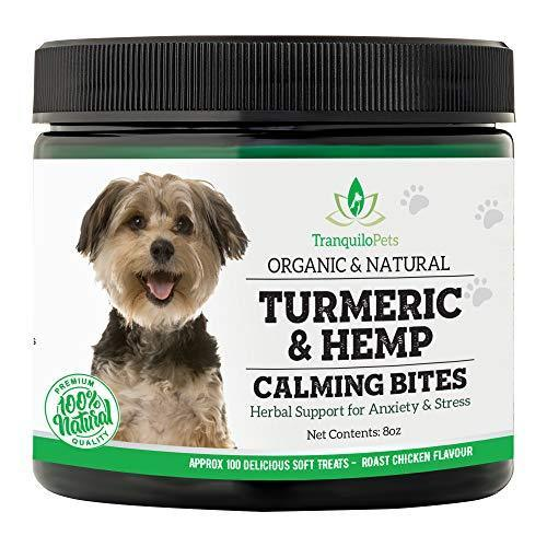 Tranquilo Pets Turmeric & Hemp Calming Treats for Dogs