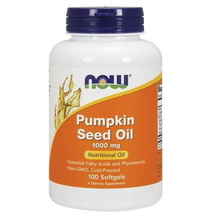 Pumpkin Oil 1000mg Now Foods 100 Softgel