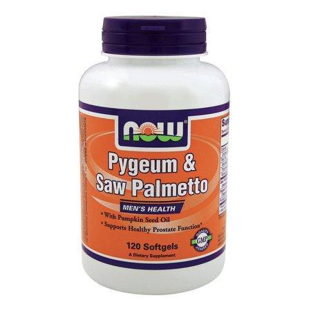 CBD Pygeum & Saw Palmetto 25mg/80mg & Pumpkin Seed Oil Now Foods 120 Softgel
