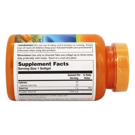 Thompson - Pumpkin Seed Oil 100% Pure 1000 mg. - 60 Softgels