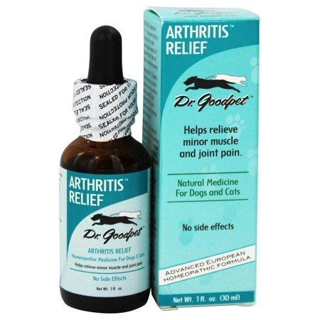 Dr. Goodpet - Arthritis Relief Homeopathic Formula For Dogs & Cats - 1 fl. oz.