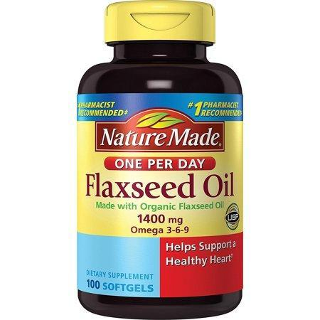 Nature Made Nutritional Products Nature Made  Flaxseed Oil, 100 ea
