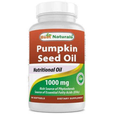 Best Naturals Pumpkin Seed Oil 1000 mg 90 Softgels