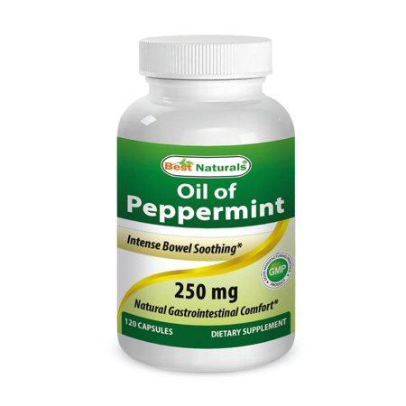 Best Naturals Peppermint Oil 250 mg 120 Capsules
