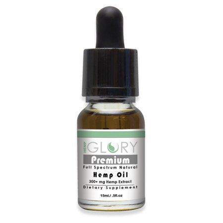 HEMP GLORY PREMIUM 15ML 300MG OIL TINCTURE