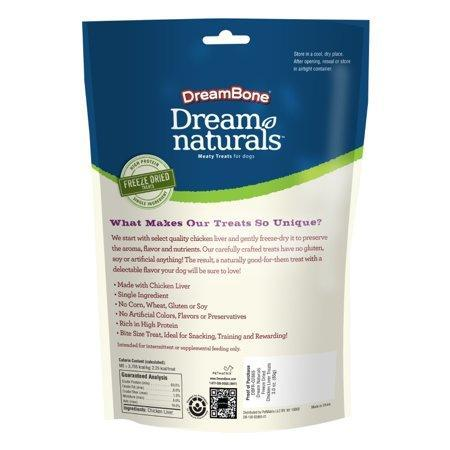 CBD Dreambone 3oz Freeze Dried Chicken For Pets