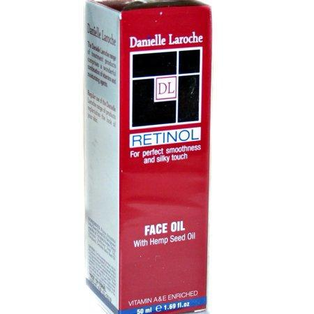 Danielle Laroche Retinol Face Oil with Hemp Seed Oil 1.69 fl oz