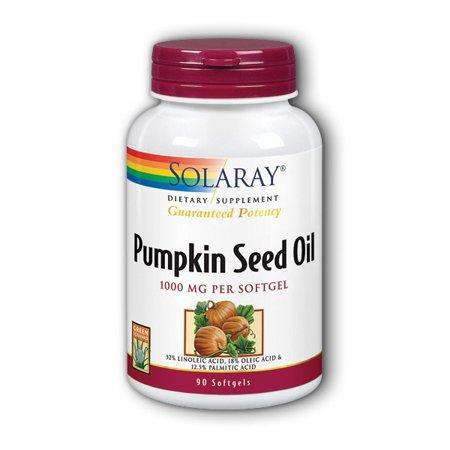 CBD Pumpkin Seed Oil Solaray 90 Softgel