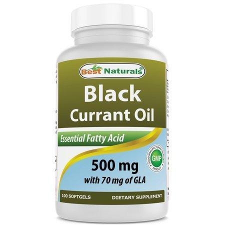 Best Naturals 817716010540 Black Currant CBD Oil 500mg 100 Softgels