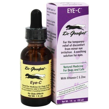 Dr. Goodpet - Eye C Homeopathic Formula For Dogs & Cats - 1 oz.