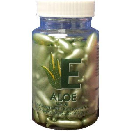 Aloe – Skin Oil Capsules by Easy Comforts 90 capsules Amazing Shine Nails