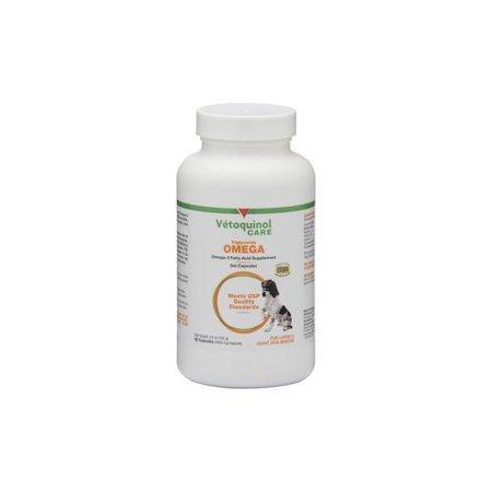 Vetoquinol Triglyceride Omega for Large Dogs - 60 Capsules