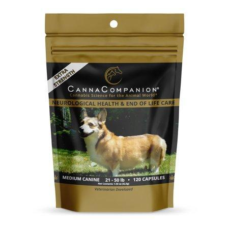 Hemp Herbal Supplement EXTRA STRENGTH MEDIUM DOG CAPSULES 355MG 120CT