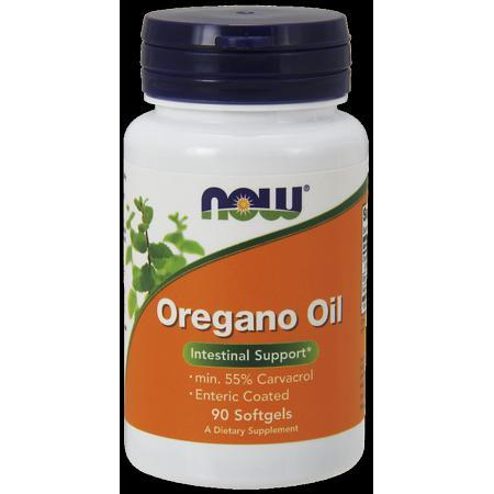 NOW Oregano Oil Enteric Softgels, 90 Ct