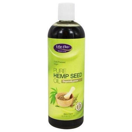 Pure Hemp Seed Oil - 16 fl. oz. by Life-Flo (pack of 4)
