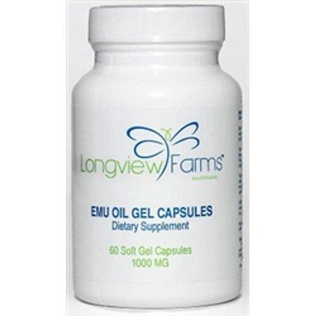 Emu Oil Gel Capsules