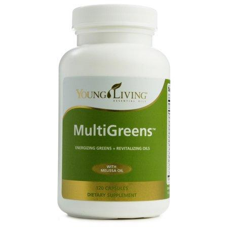 Young Living MultiGreens with Melissa Oil 120 Capsules