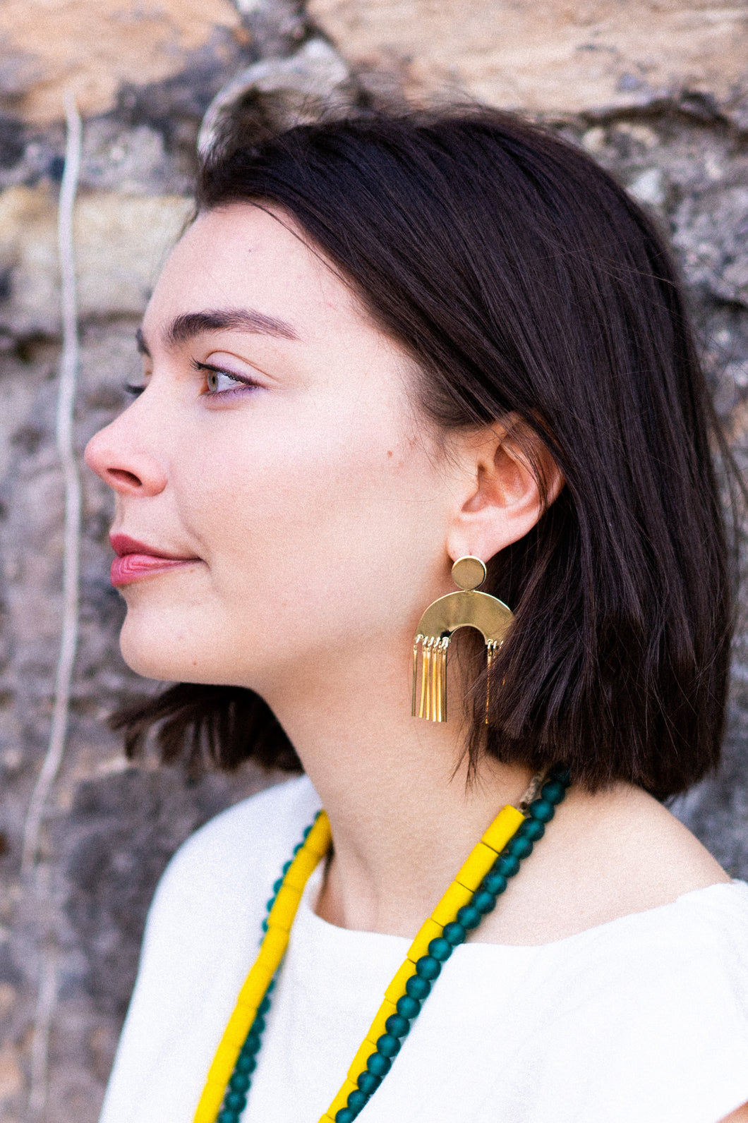 Figure Earrings