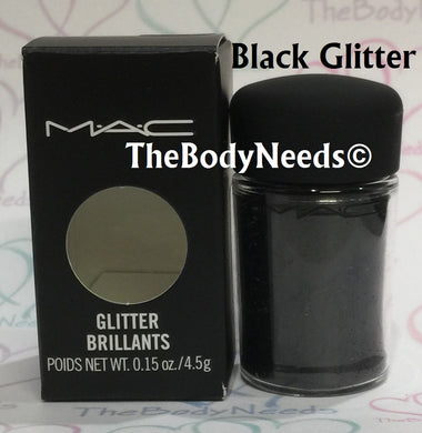 Black MAC Glitter Sample