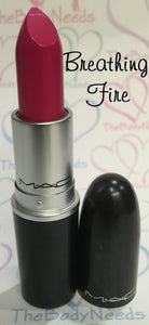 Breathing Fire MAC Lipstick Sample