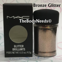 Bright Bronze MAC Glitter Sample