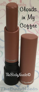 Clouds in My Coffee MAC Lipstick Sample