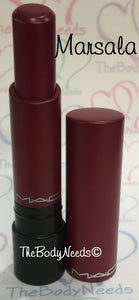 Marsala MAC Lipstick Sample