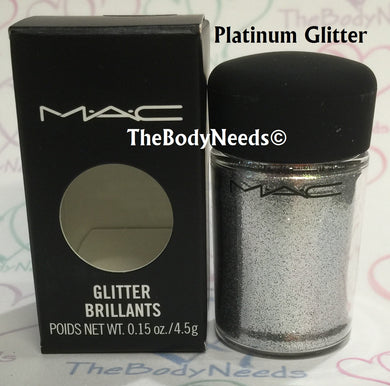 Platinum MAC Glitter Sample