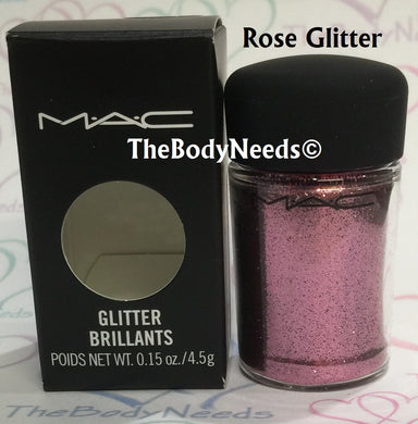 Rose MAC Glitter Sample