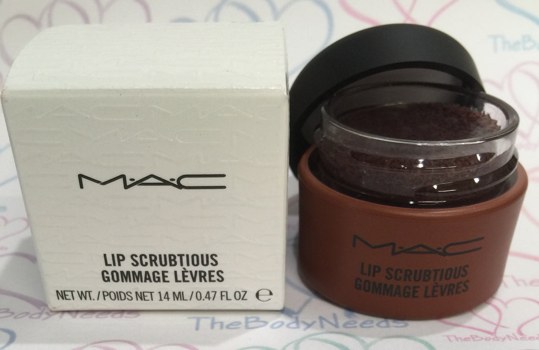 Sweet Brown Sugar MAC Lip Scrubtious Sample