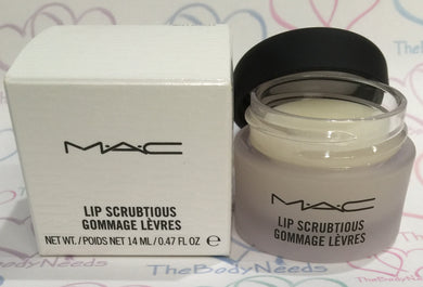 Sweet Vanilla MAC Lip Scrubtious Sample