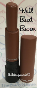 Well Bred Brown MAC Lipstick Sample