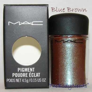 Blue Brown MAC Pigment Sample