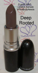 Deep Rooted MAC Lipstick Sample