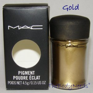 Gold MAC Pigment Sample