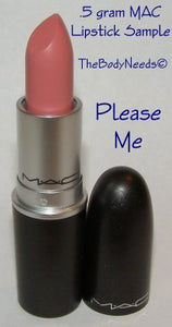 Please Me MAC Lipstick Sample