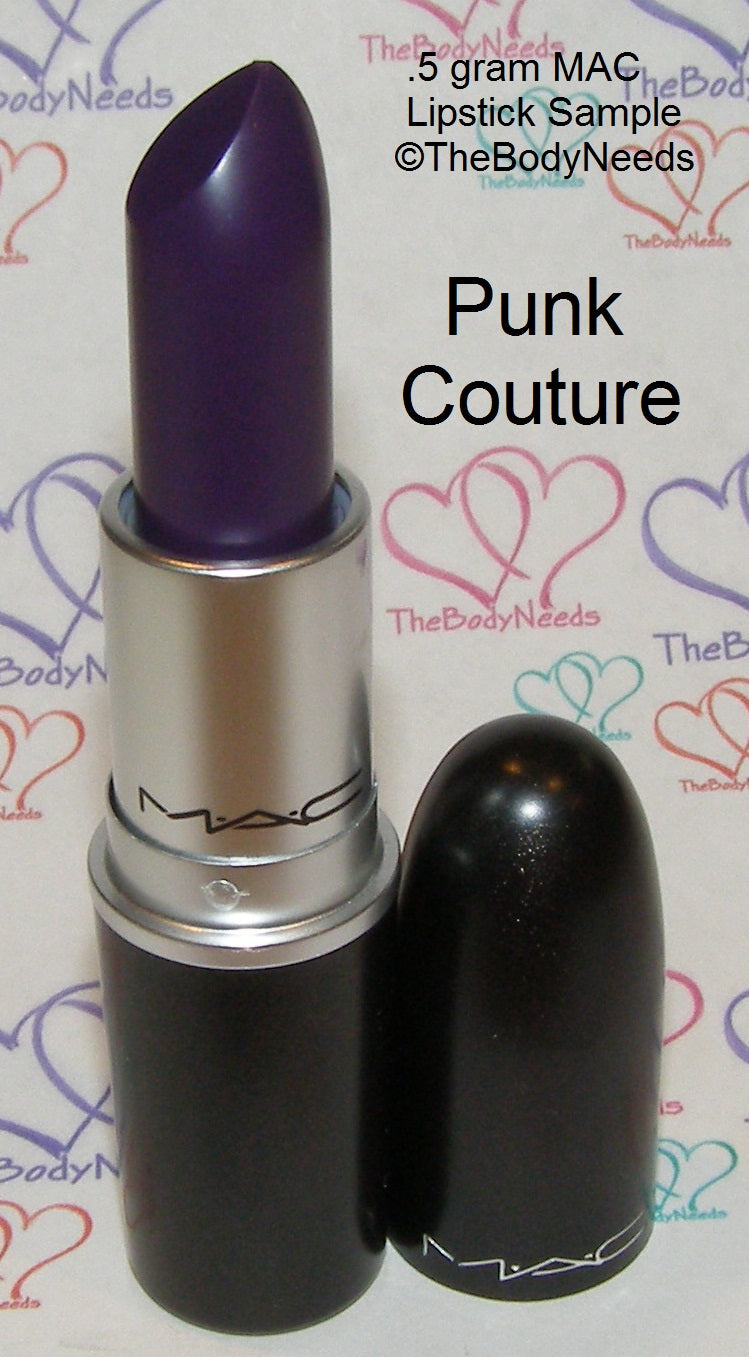 Punk Couture MAC Lipstick Sample