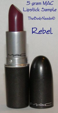 Rebel MAC Lipstick Sample