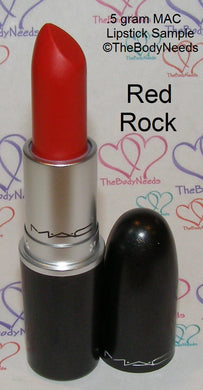 Red Rock MAC Lipstick Sample