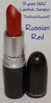 Russian Red MAC Lipstick Sample