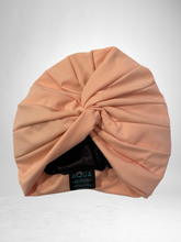 "Load image into Gallery viewer, AQUA ""Vintage Twist"" Turban (Blush)"