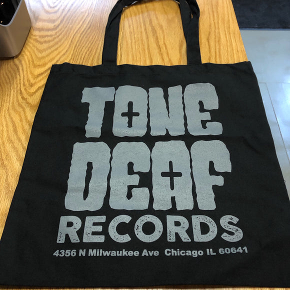New - Tone Deaf Record Tote