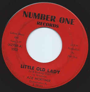 Used - Mortimer, Azie ‎– Little Old Lady (In A Rocking Chair) / Cool It - 7""