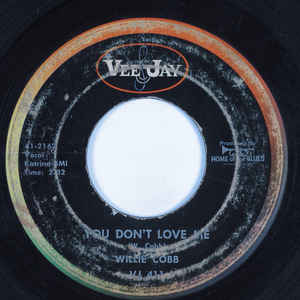 Used - Cobb, Willie ‎– You're So Hard To Please / You Don't Love Me - 7
