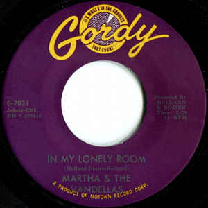 Used - Martha & The Vandellas ‎– In My Lonely Room - 7""