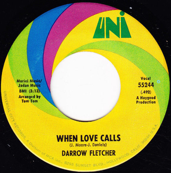 Used - Fletcher, Darrow - When Love Calls - 7