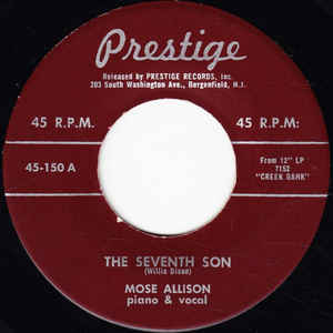 Used - Allison, Mose ‎– The Seventh Son / Parchman Farm - 7""
